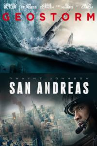 Pack Pack Geostorm + San Andreas