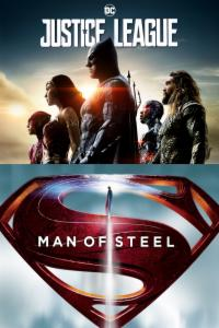 Pack Pack Justice League + Man of Steel